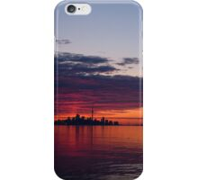 Panorama - Toronto Sunrise in June iPhone Case/Skin