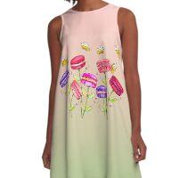 Macaron Garden A-Line Dress