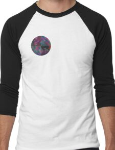 Abstract Emblem Tee Men's Baseball ¾ T-Shirt