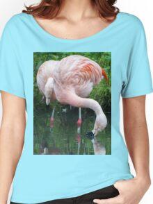 Zaphod Flamingbrox Women's Relaxed Fit T-Shirt
