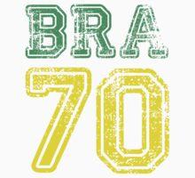 BRAZIL 1970 Kids Clothes