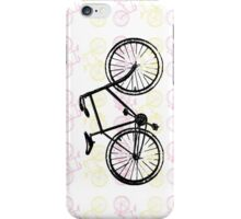 Bicycles (Pink) iPhone Case/Skin