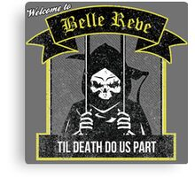 Belle Reve Ispired Logo Canvas Print