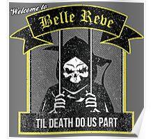 Belle Reve Ispired Logo Poster