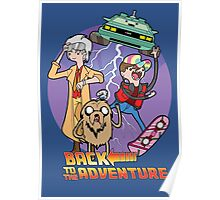Back to the Adventure Poster