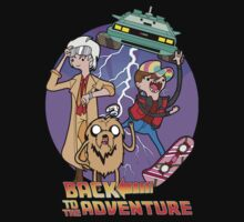 Back to the Adventure Baby Tee