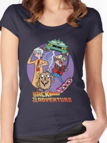 Back to the Adventure Women's Fitted Scoop T-Shirt