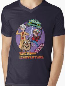 Back to the Adventure Mens V-Neck T-Shirt