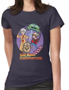 Back to the Adventure Womens Fitted T-Shirt