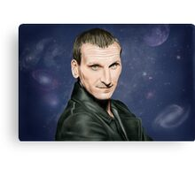 Ninth Doctor Who Canvas Print