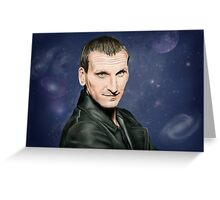 Ninth Doctor Who Greeting Card