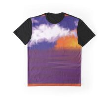 Marshmallow Sunset Graphic T-Shirt