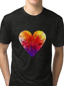 Follow your heart !! Tri-blend T-Shirt