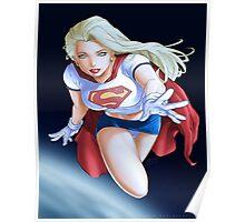 Super girl DC Poster