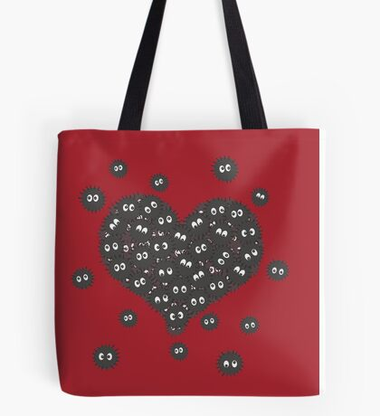 Heart of Soot Sprites Tote Bag