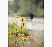 Know I Am God Psalm 46 Unisex T-Shirt