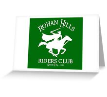 Rohan Hills Riders Club Greeting Card