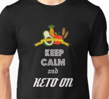 Keep Calm and Keto on Unisex T-Shirt