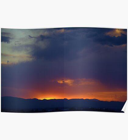 Sunset 6-10-14 Poster