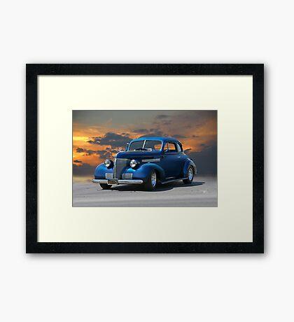 1939 Chevrolet Master Deluxe Coupe Framed Print