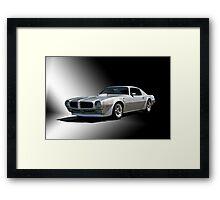 1973 Pontiac Firebird Framed Print