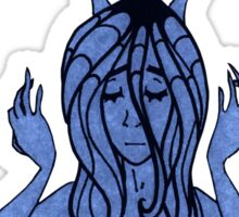 Blue Thoughts Sticker