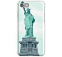 New Yorks Lady Liberty iPhone Case/Skin