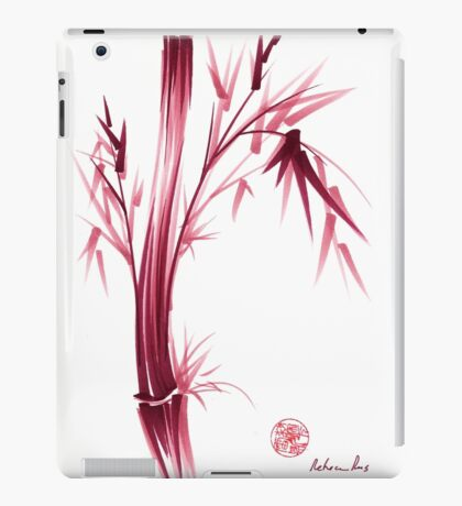 """INSPIRE"" - Original ink brush pen bamboo drawing/painting iPad Case/Skin"