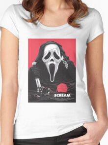 Scream - Welcome to Woodsboro Women's Fitted Scoop T-Shirt