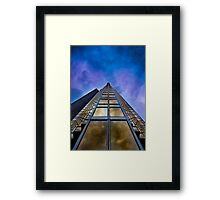 To Infinity and Beyond 2 at No 200 Bay St Toronto Canada Framed Print