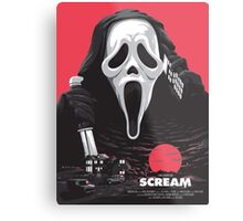 Scream - Welcome to Woodsboro Metal Print