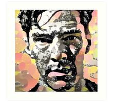 Benedict Cumberbatch Pop Art Art Print