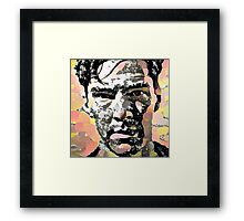 Benedict Cumberbatch Pop Art Framed Print