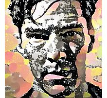 Benedict Cumberbatch Pop Art Photographic Print