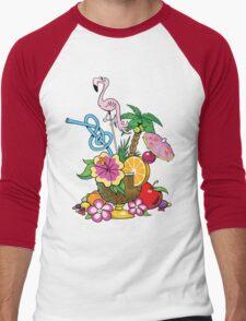 Fruit Cocktail Men's Baseball ¾ T-Shirt