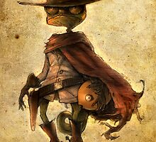 Rango Pencil poster by xtotemx