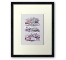 Golf Buddies Framed Print