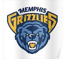 Memphis Grizzlies 5 Poster