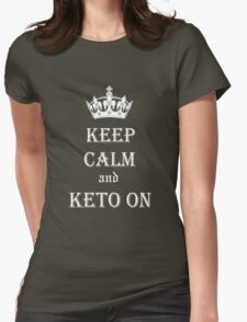 Keto, Health and Diet Womens Fitted T-Shirt