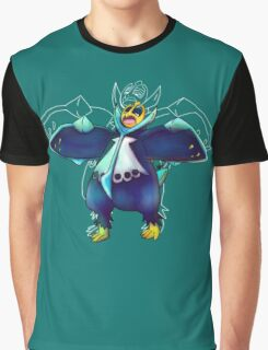 Water Penguin Graphic T-Shirt