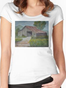 The Old Barn-WC20150713a Women's Fitted Scoop T-Shirt