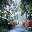 Study for Longwood Gardens Bridge by Monica Vanzant