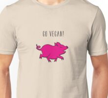 happy pig2 Unisex T-Shirt