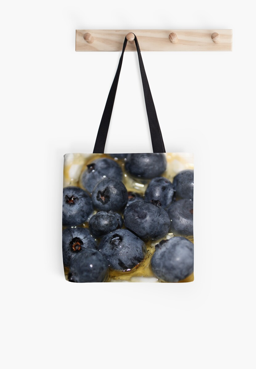 Summer Breakfast Pillow and Tote Bag by AuntDot