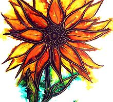 Sunflower by Linda Callaghan
