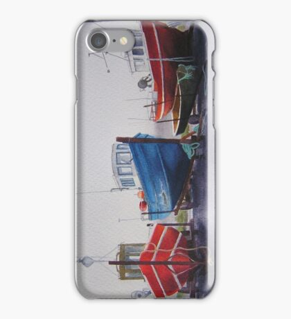 Fishing Boats at Blacksod iPhone Case/Skin