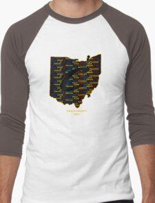 Cavs Finals Champs (Multicolor) Men's Baseball ¾ T-Shirt