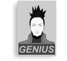 True Genius  Canvas Print