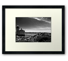 Coquille Lighthouse No. 1 Framed Print