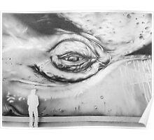 Whale eye Poster